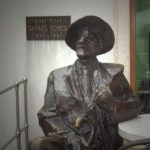 Bronze statue of Joyce in Pula, Croatia