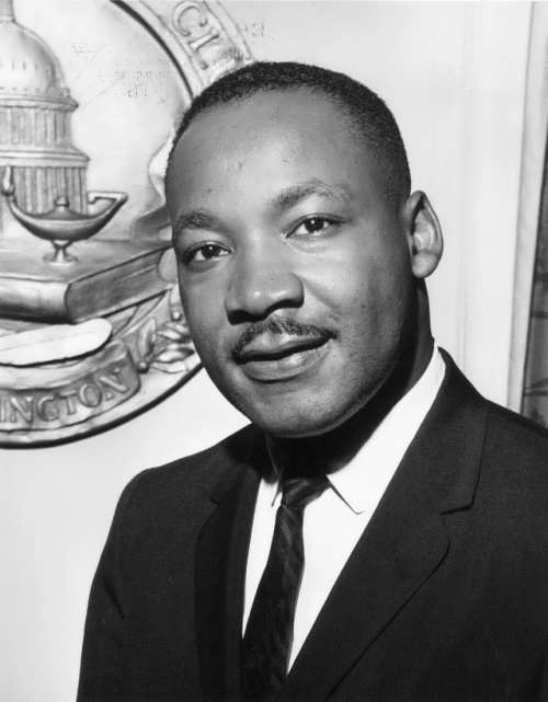 Martin Luther King Jr. - Nobel Prize winner