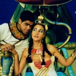 Monica Bellucci in the film Asterix and Obelix. Mission Cleopatra, 2002