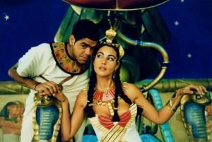 Monica Bellucci in the film Asterix and Obelix. Mission Cleopatra, 2002