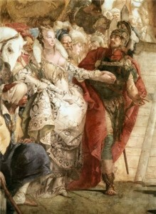 Tiepolo. Anthony and Cleopatra