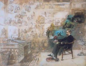 R.V. Bass. Dreaming Dickens