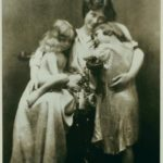 Isadora with her children, Patrick and Deirdre