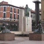 Monument to Goya in Saragossa