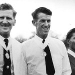 John Hunt, Hillary and Tenzing with medals