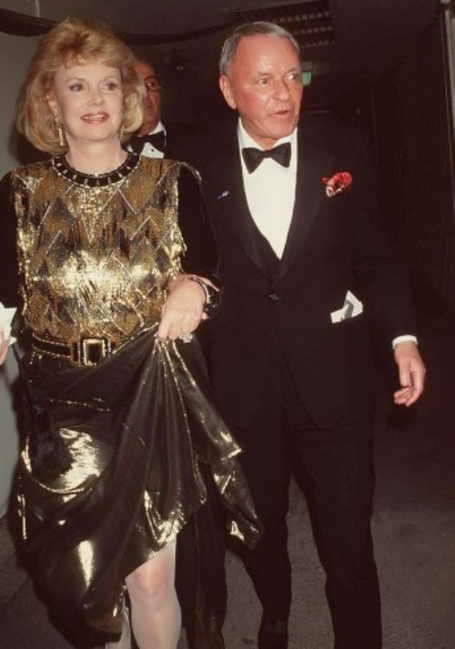 Sinatra and his fourth wife Barbara