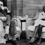 Gandhi and Lord Mountbatten