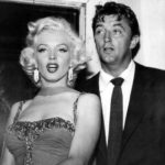 Monroe and Robert Mitchum. Dated in 1954