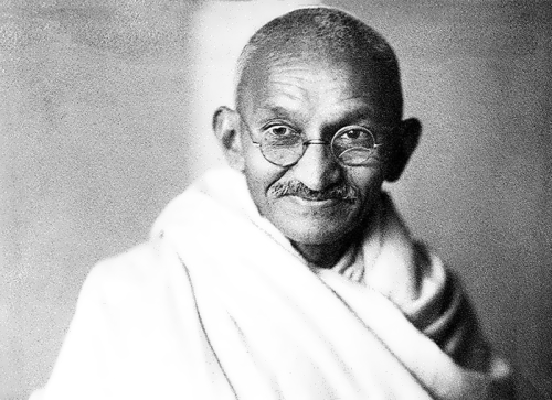 Mohandas Gandhi - Indian Religious leader
