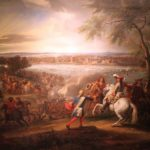 Louis XIV crosses the Rhine on June 12, 1672
