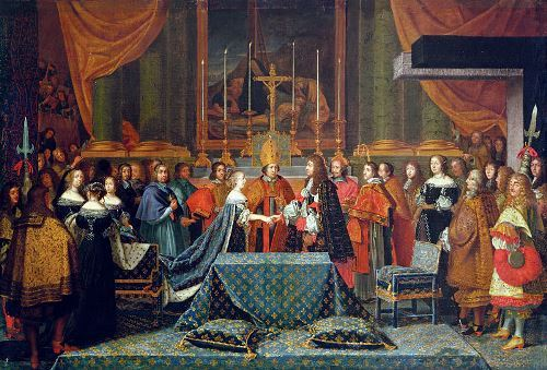Wedding ceremony, 1660