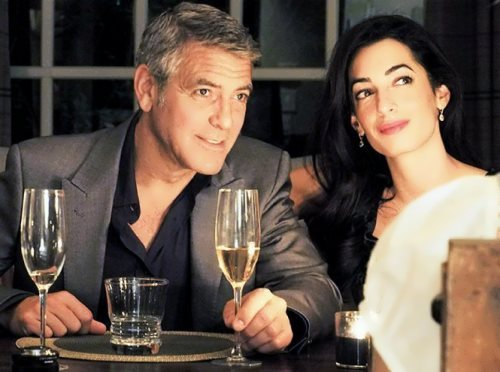 George and his wife Amal Alamuddin