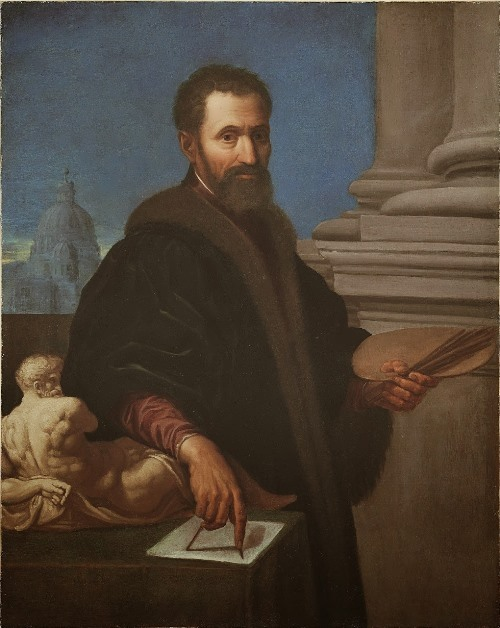 Michelangelo by Domenico Cresti
