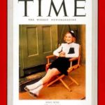 Henie on the cover of Time magazine