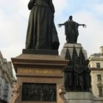 Florence Nightingale. Monument in London