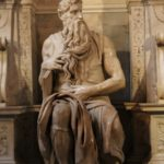 Moses, 1515. Rome, the Church of San Pietro in Vincoli