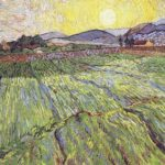 Enclosed Field with Rising Sun, 1889