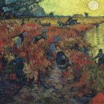 The Red Vineyards in Arles, 1888