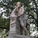 Monument to Shakespeare – there is no darkness but ignorance