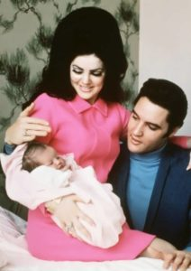 Elvis and his family