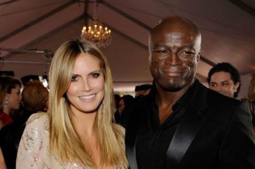 Heidi and her second husband Seal