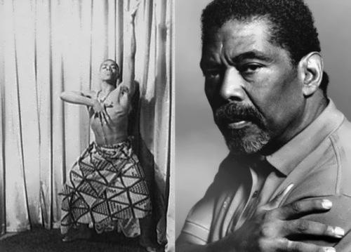 Alvin Ailey - famous modern dancer