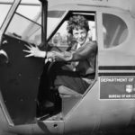 Earhart - the first woman to fly across the Atlantic