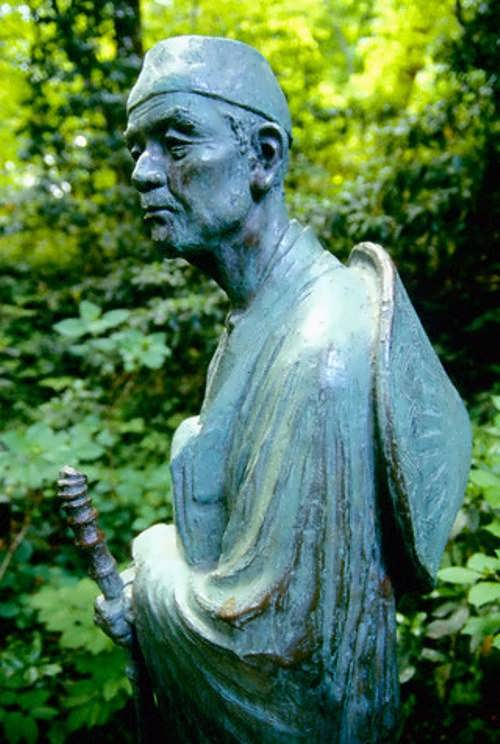Monument to Basho