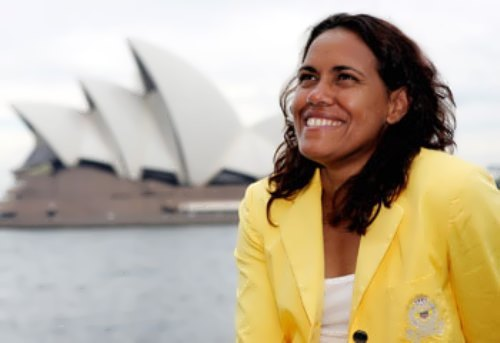 Cathy Freeman - Gold Medalist in Track