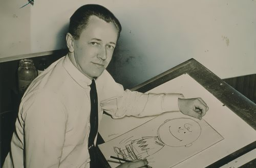 Charles Schulz – famous cartoonist