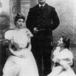 Georgy, Olga and Ekaterina – children of Dolgorukova