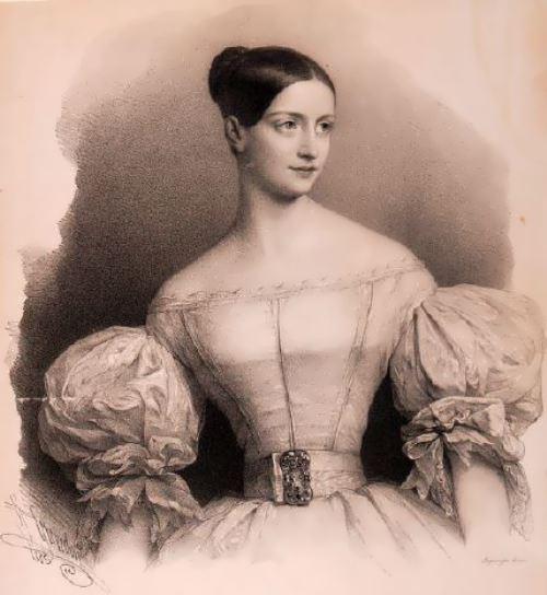 Fanny Elssler - theatrical ballerina