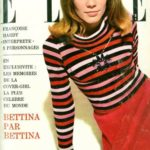 Francoise Hardy in SONIA RYKIEL sweater on the cover of French Elle
