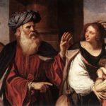 Giovanni Francesco Guercino. Abraham expels Hagar and Ishmael, 1657