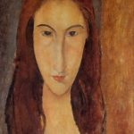 Jeanne Hebuterne 1917 1918