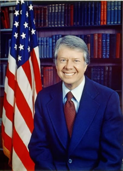 Jimmy Carter - 39th president of America