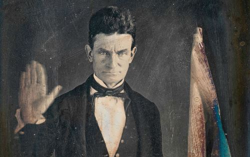 John Brown - martyr to the American antislavery cause