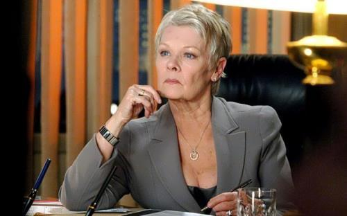 Judi Dench – English actress