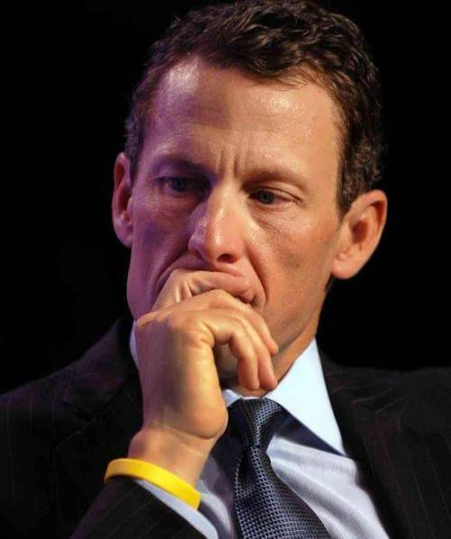 Lance Armstrong - American road racing cyclist