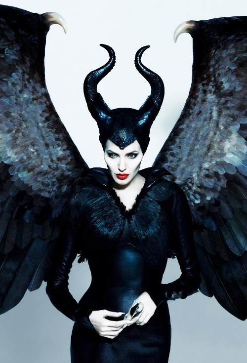 Jolie as Maleficent