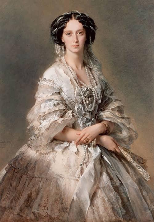 Franz Winterhalter. Empress Maria Alexandrovna, 1857