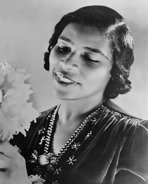 Marian Anderson – one of the best American contraltos of all time