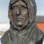 Monument to Amundsen in Ny-Ålesund