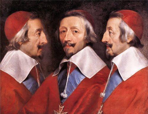 Cardinal Richelieu - French statesman. Philippe de Champaigne