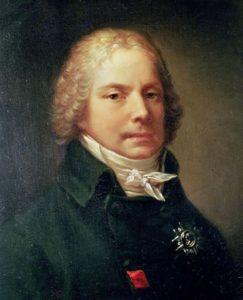 Pierre-Paul Prud'hon (1758-1823). Portrait of Charles Maurice de Talleyrand-Perigord