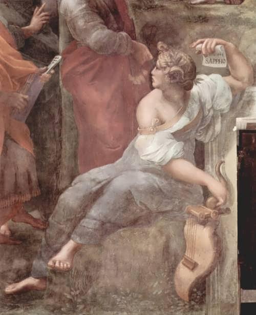 Sappho by Raphael