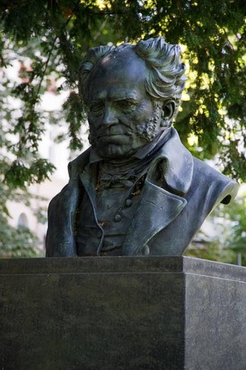 Bust of Schopenhauer