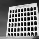 Square Colosseum was built on the orders of Benito Mussolini