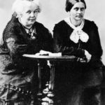 Elizabeth Stanton and Susan Anthony