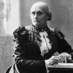 Susan B. Anthony - leader of suffragettes
